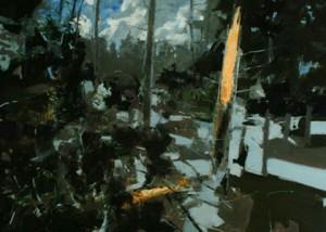 BLASTED TREES, 2008