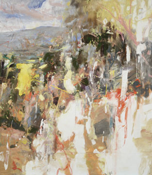 DAYBREAK, 2010 oil on linen, 92 x 80 inches