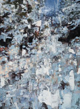 KAAMOS, 2010 oil on linen, 76 x 56 inches